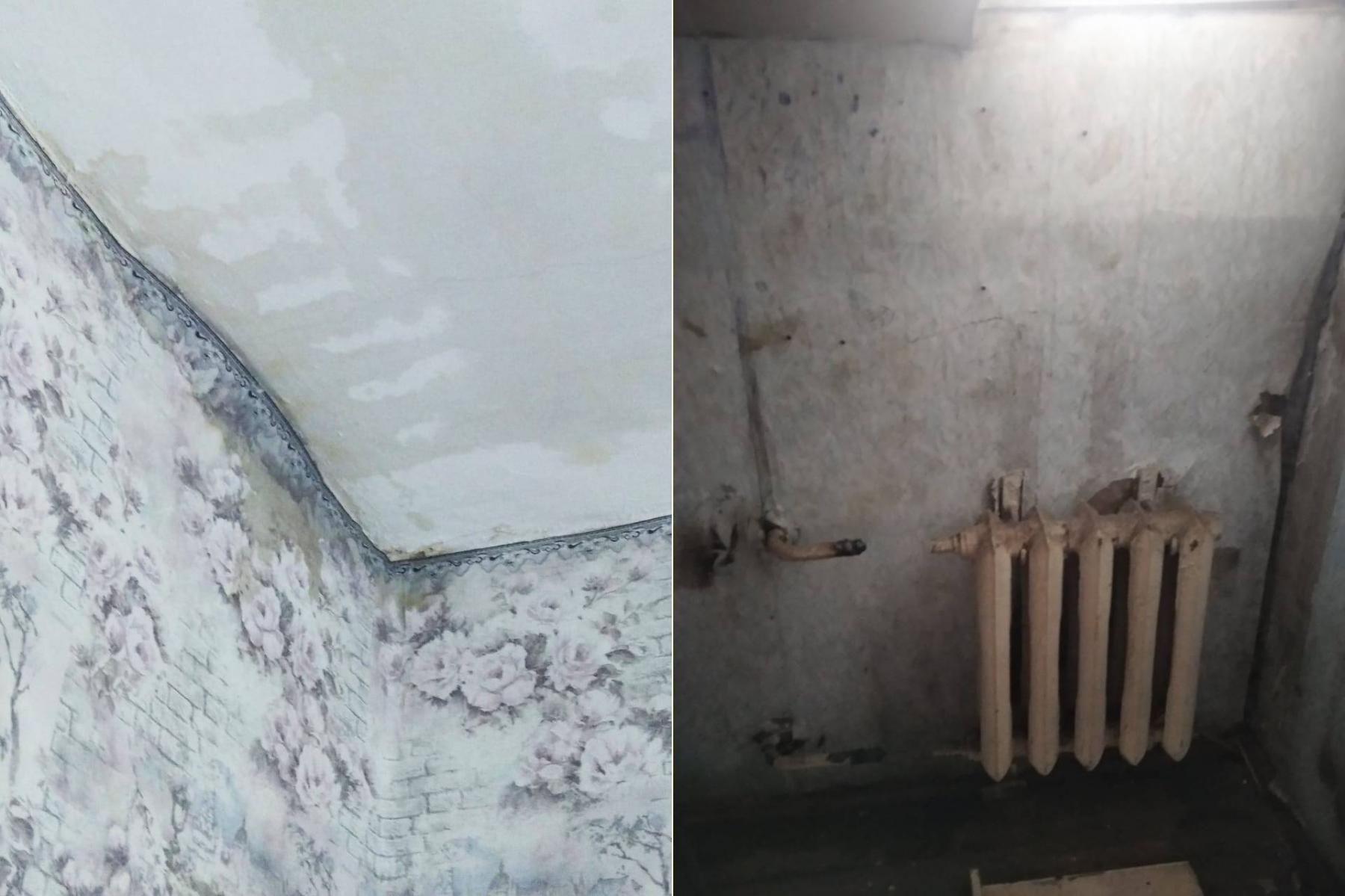 Фото «Адские трущобы 21 века»: десять жутких фото из затопленного кипятком аварийного дома в Новосибирске 8