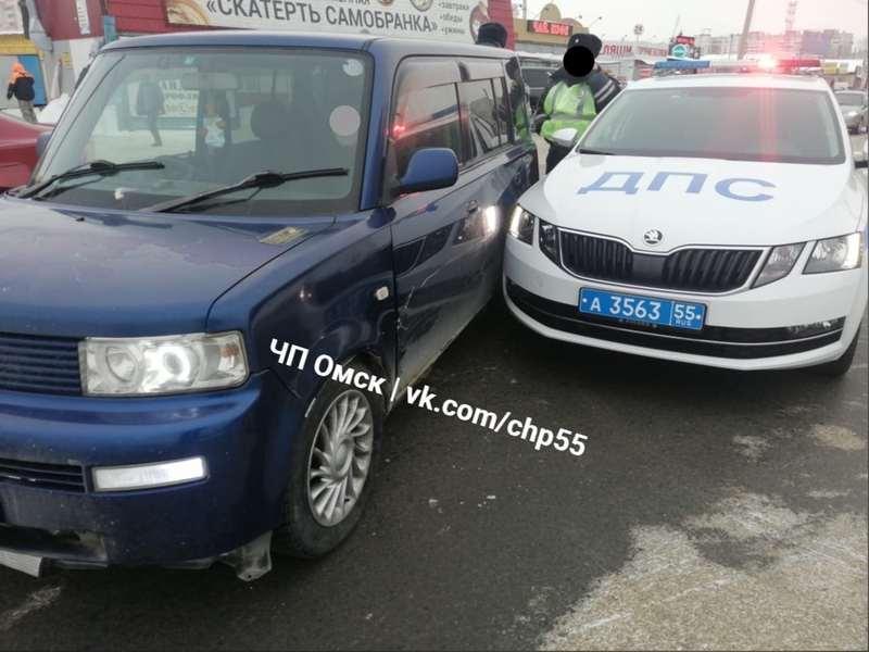 Фото В Омске произошло несколько аварий 2