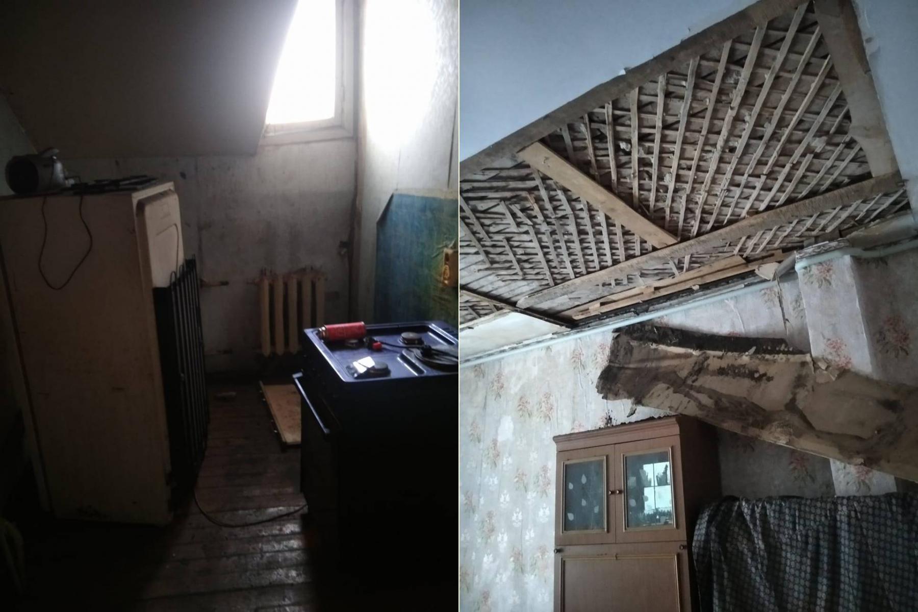 Фото «Адские трущобы 21 века»: десять жутких фото из затопленного кипятком аварийного дома в Новосибирске 3