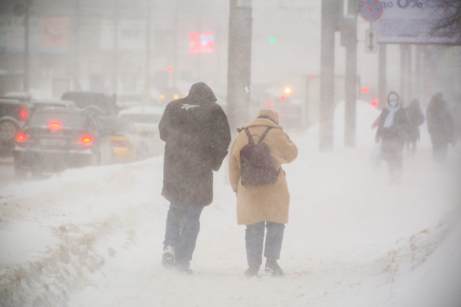 фото Новосибирск накрыла ледяная буря: 10 фото из снежного плена 2