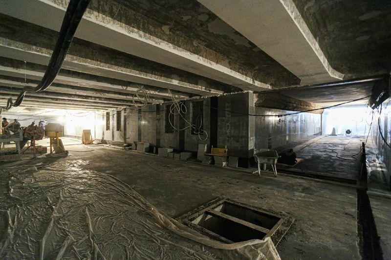 фото Мэр Новосибирска назвал сроки открытия подземного перехода на Красном проспекте 2