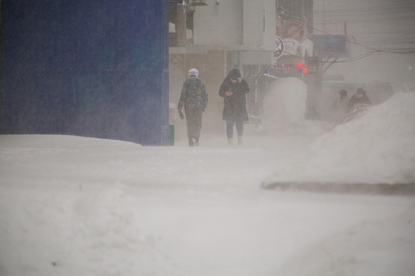 фото Новосибирск накрыла ледяная буря: 10 фото из снежного плена 10