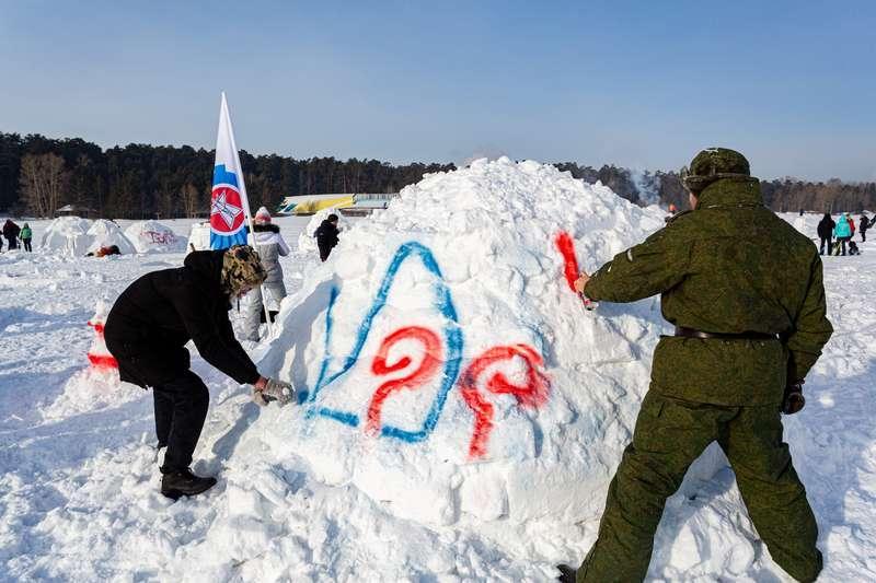 фото В Новосибирске состоялся фестиваль «Город эскимосов – 2021» по строительству иглу - фото 9