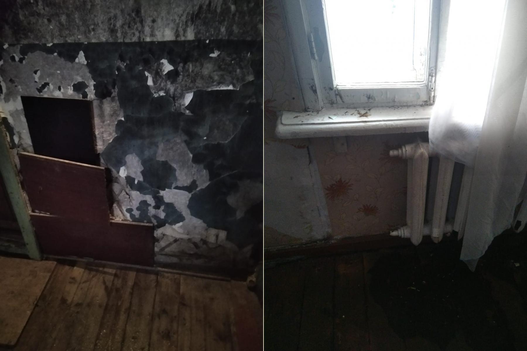 Фото «Адские трущобы 21 века»: десять жутких фото из затопленного кипятком аварийного дома в Новосибирске 10