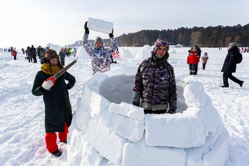 фото В Новосибирске состоялся фестиваль «Город эскимосов – 2021» по строительству иглу - фото 6