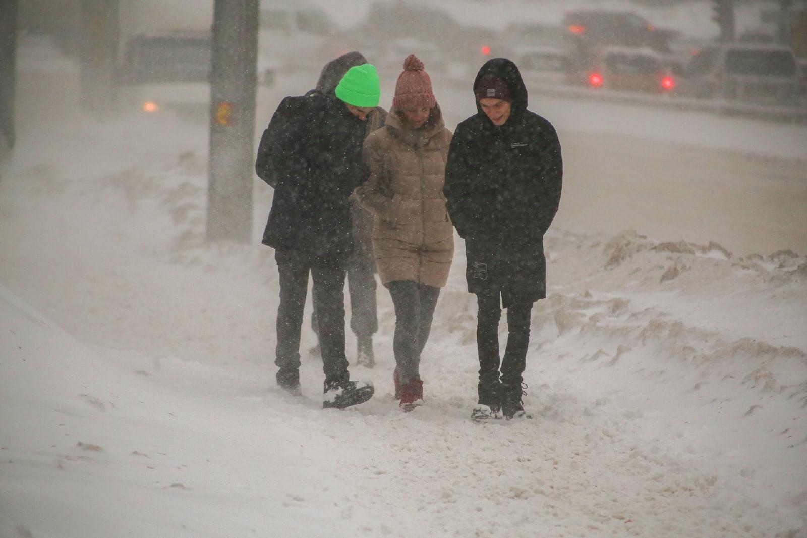 фото Новосибирск накрыла ледяная буря: 10 фото из снежного плена 4