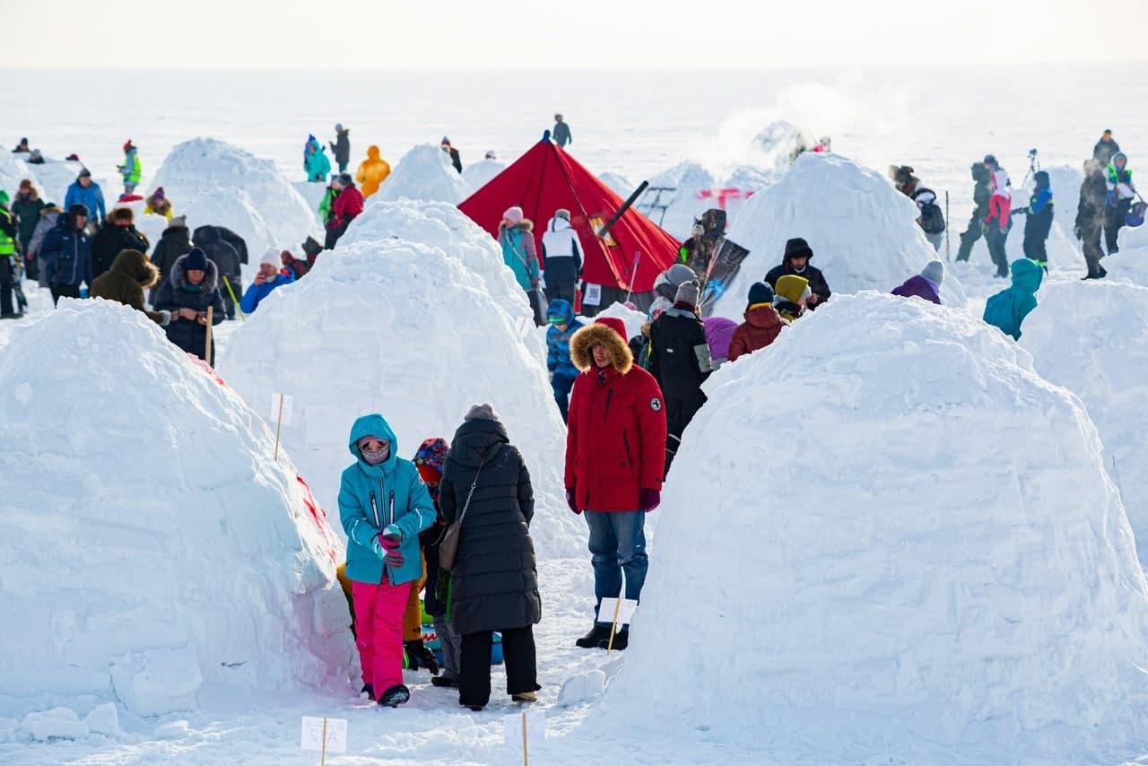фото В Новосибирске состоялся фестиваль «Город эскимосов – 2021» по строительству иглу - фото 5