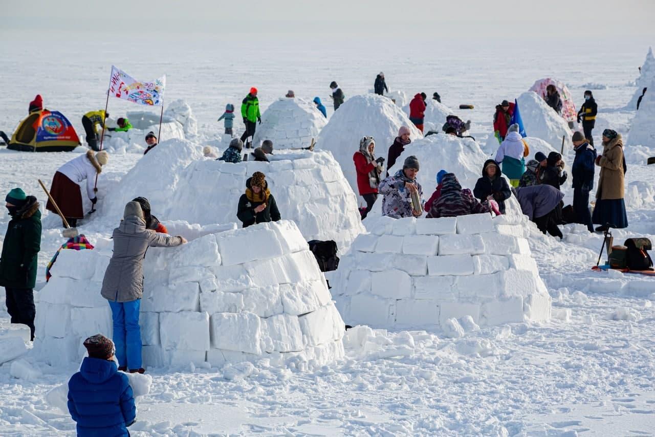 фото В Новосибирске состоялся фестиваль «Город эскимосов – 2021» по строительству иглу - фото 8