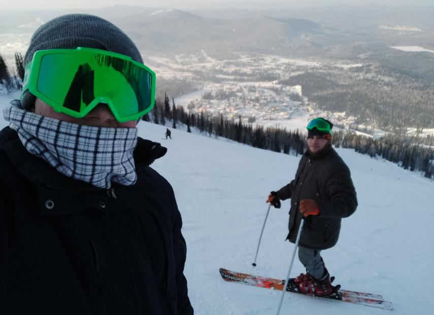 фото «Я и Лёха в Шерегеше!»: почему умер налетевший на лыжу новосибирец 4