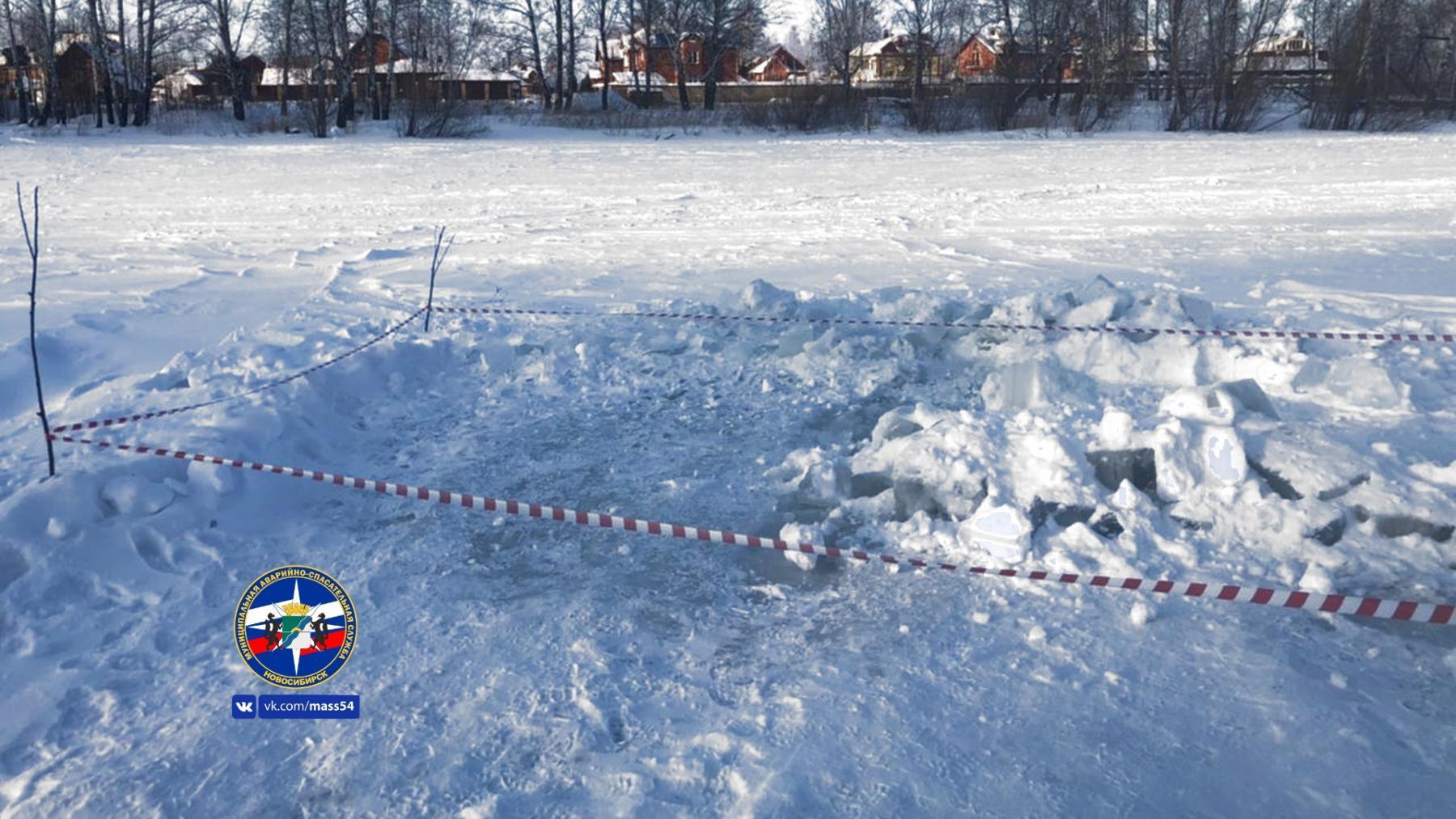 фото Спасатели в Новосибирске нашли и засыпали снегом две нелегальные купели 2