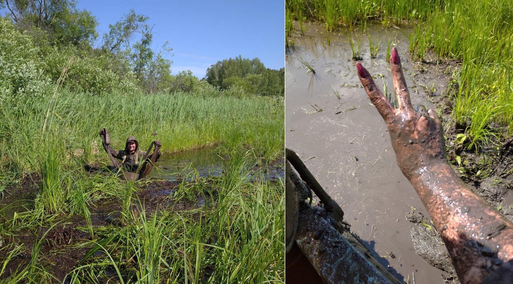 Фото Простые парни на УАЗах: зачем новосибирские экстремалы лезут в непроходимые болота и устраивают свидания с медведями 6