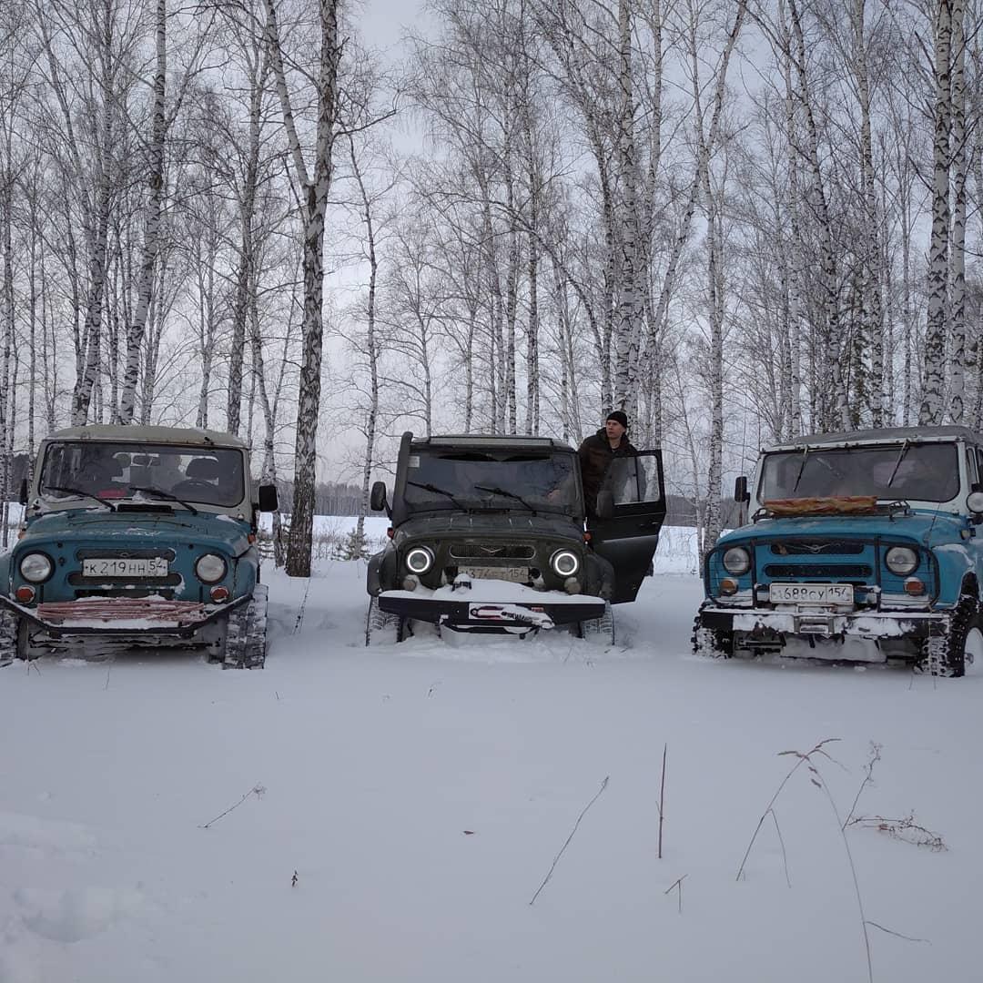 Фото Простые парни на УАЗах: зачем новосибирские экстремалы лезут в непроходимые болота и устраивают свидания с медведями 3