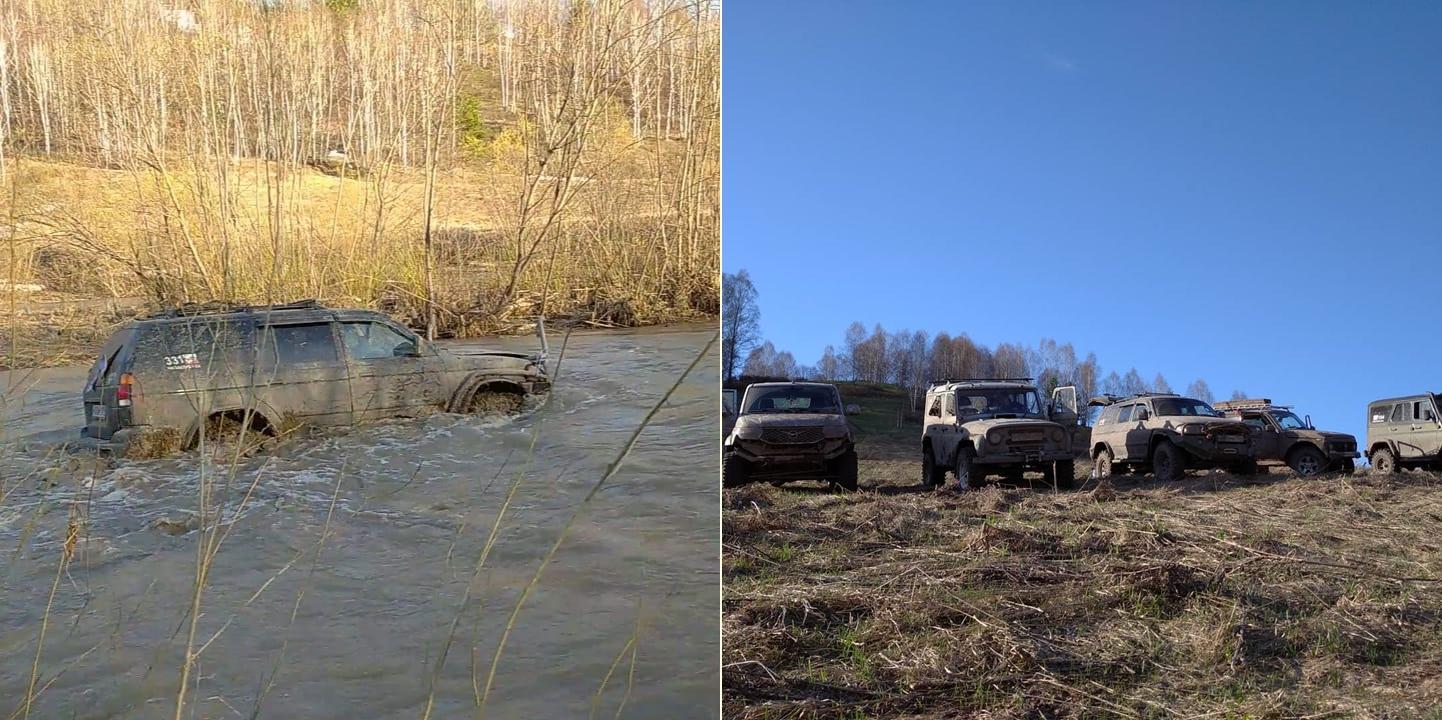 Фото Простые парни на УАЗах: зачем новосибирские экстремалы лезут в непроходимые болота и устраивают свидания с медведями 7