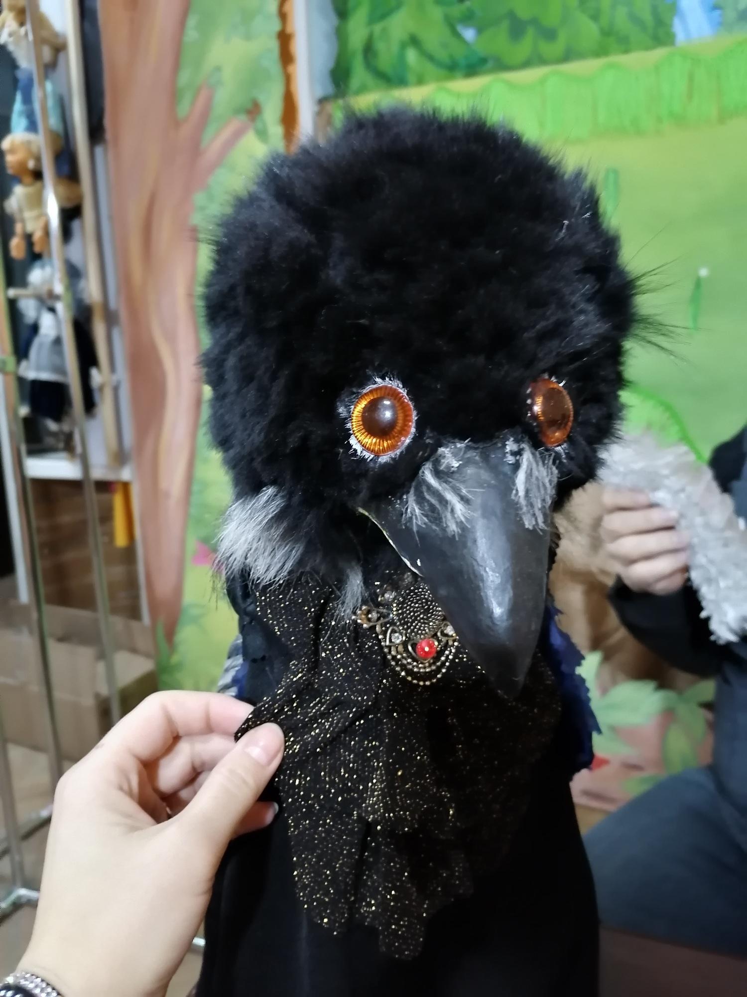 Фото Повелитель  бабы Яги и укротитель чёрной Вороны: мастер-кукольник под Новосибирском создаёт игрушки для театра инвалидов 3