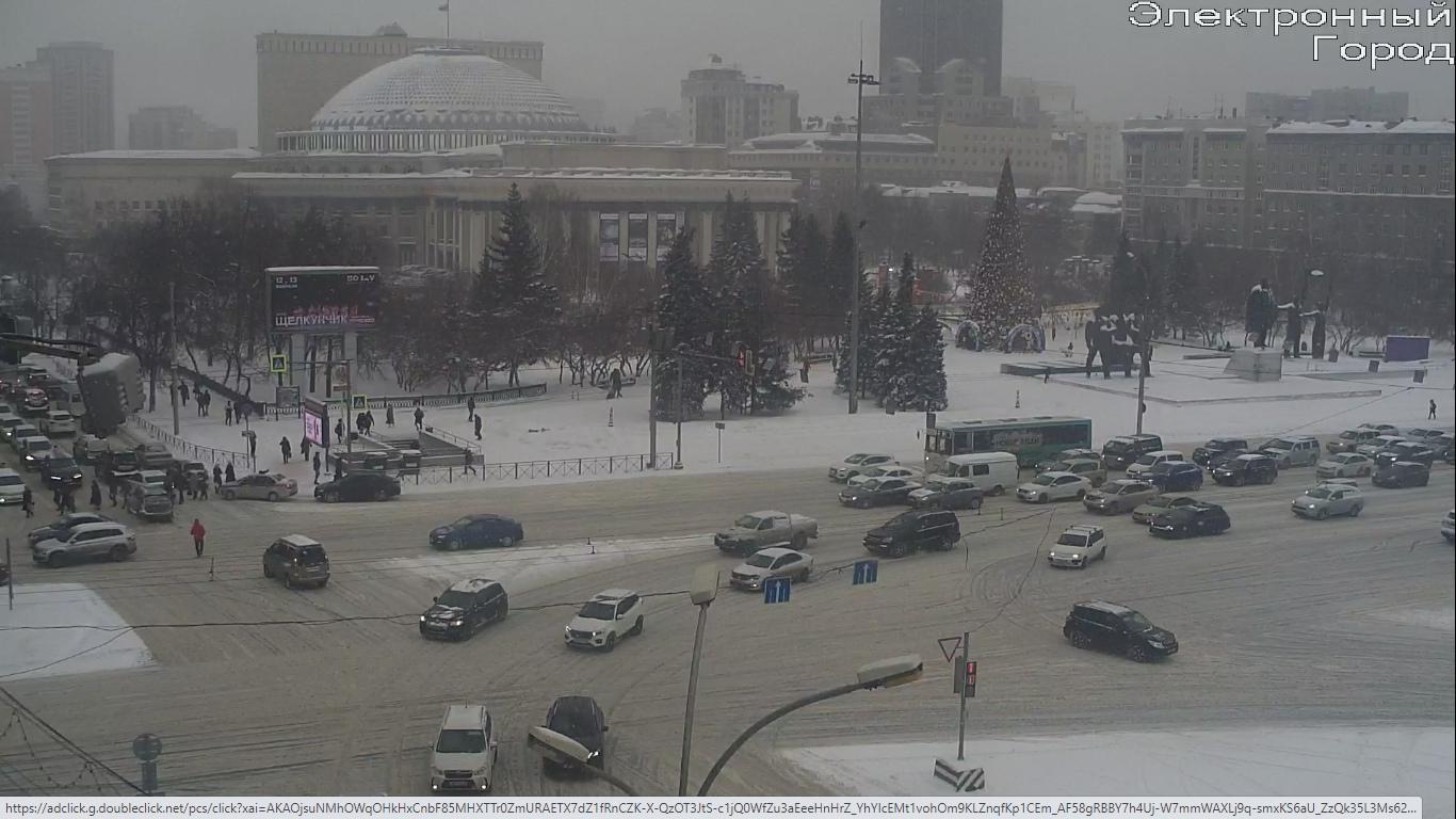 фото Десятки аварий и месиво на дорогах: смотрим на пробки в Новосибирске в 17:00 3