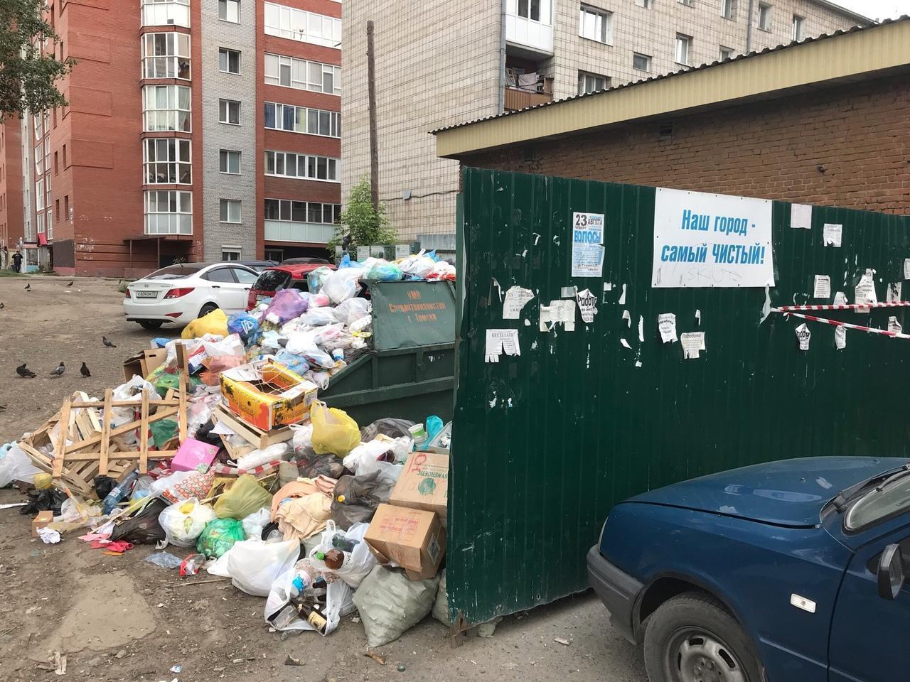 Более 10 крупных свалок ликвидировали в Томске
