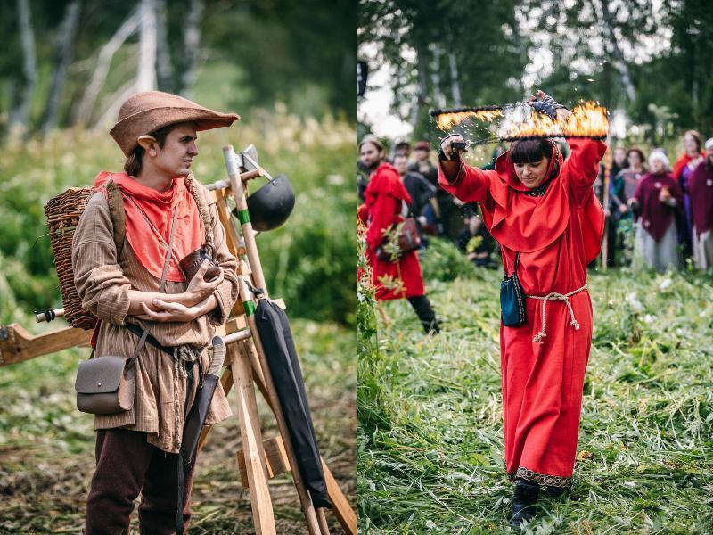 Фото Сотни новосибирцев воплотили «Ведьмака» накануне мировой премьеры Netflix 2