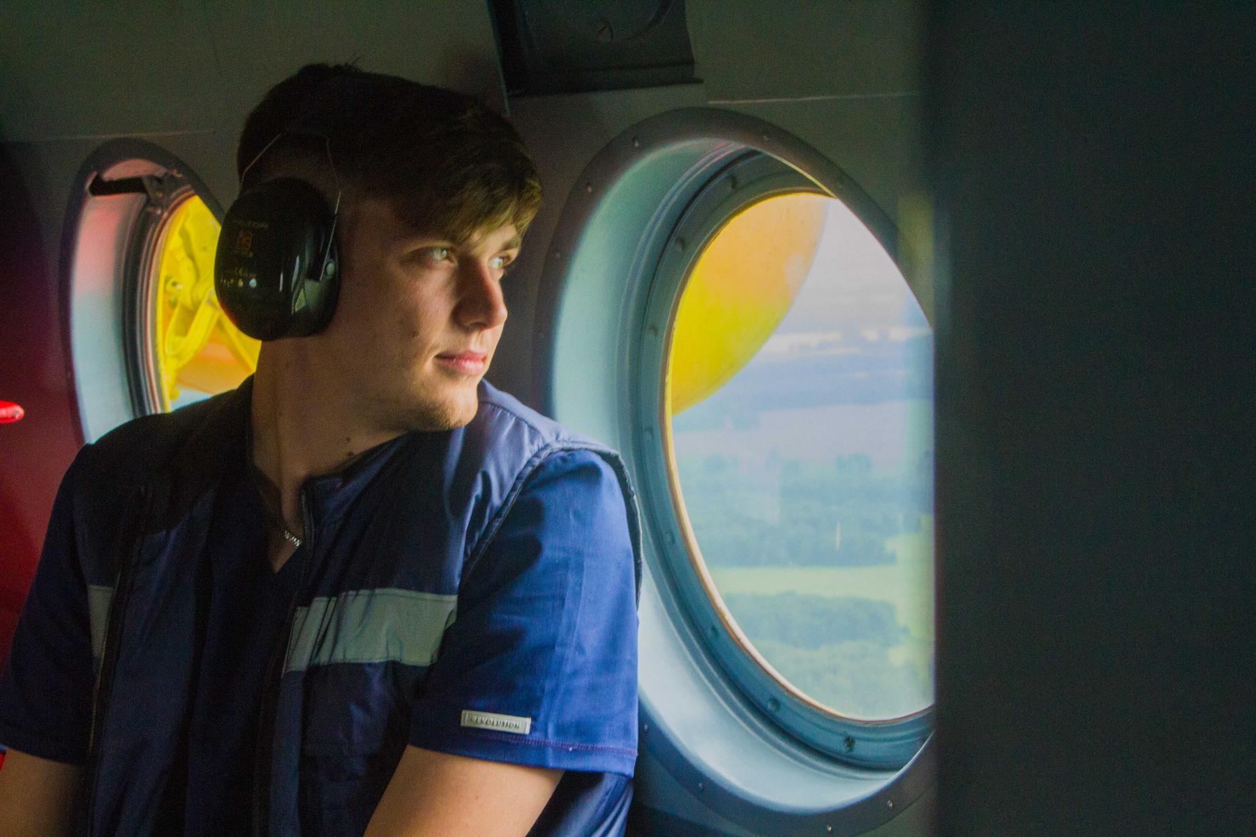 Фото Экстренный вылет: корреспондент Сиб.фм провёл смену с авиамедицинской бригадой 7