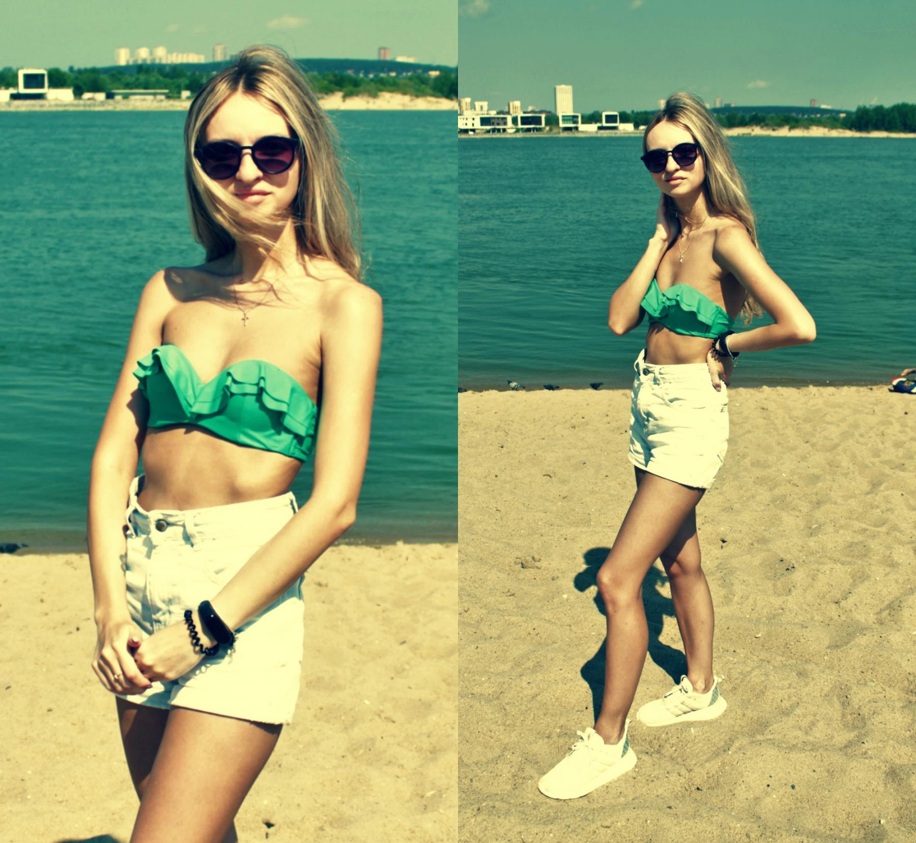 фото Лето, пляж, красотки: подборка самых горячих девушек на пляже Новосибирска 8