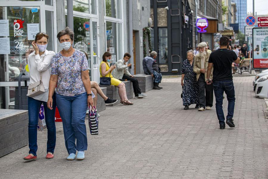 Фото Соскучились по свободе: как в Новосибирске проходит первый день выхода из полной самоизоляции 6