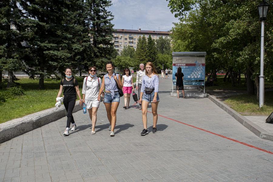Фото Соскучились по свободе: как в Новосибирске проходит первый день выхода из полной самоизоляции 10