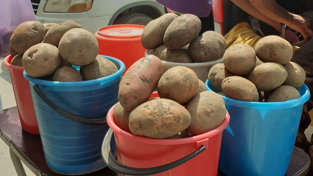 Фото «Откуда в июле свежая картошка?»: подозрительный картофель появился у уличных торговцев в Новосибирске 2