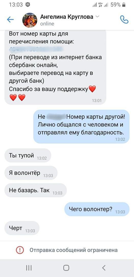 Фото «Куда скидывать деньги?»: мошенники пытаются обмануть новосибирцев после инцидента с глухонемым таксистом в Новосибирске 4