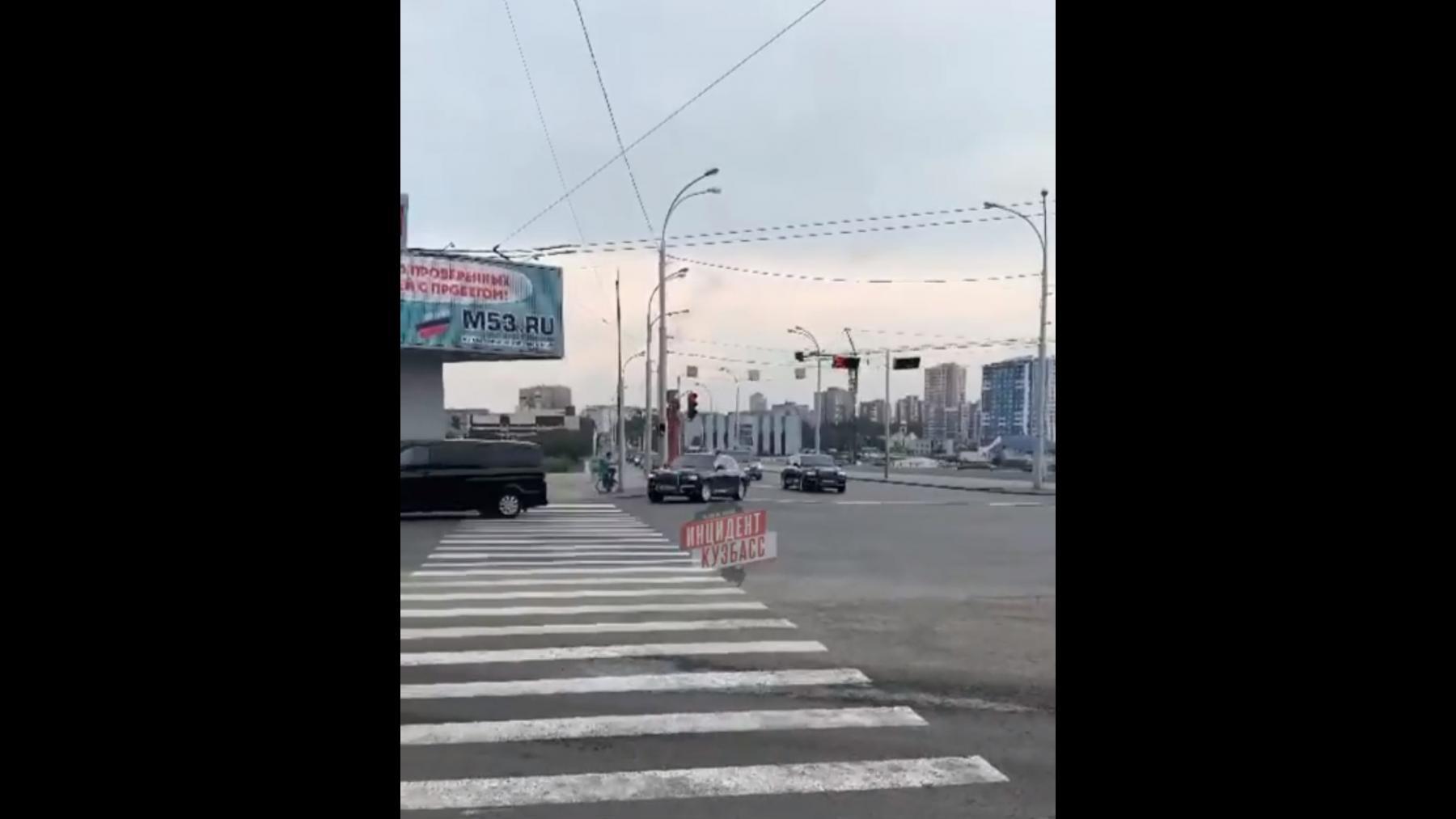 Фото Президент Путин прибыл в Кемерово 2