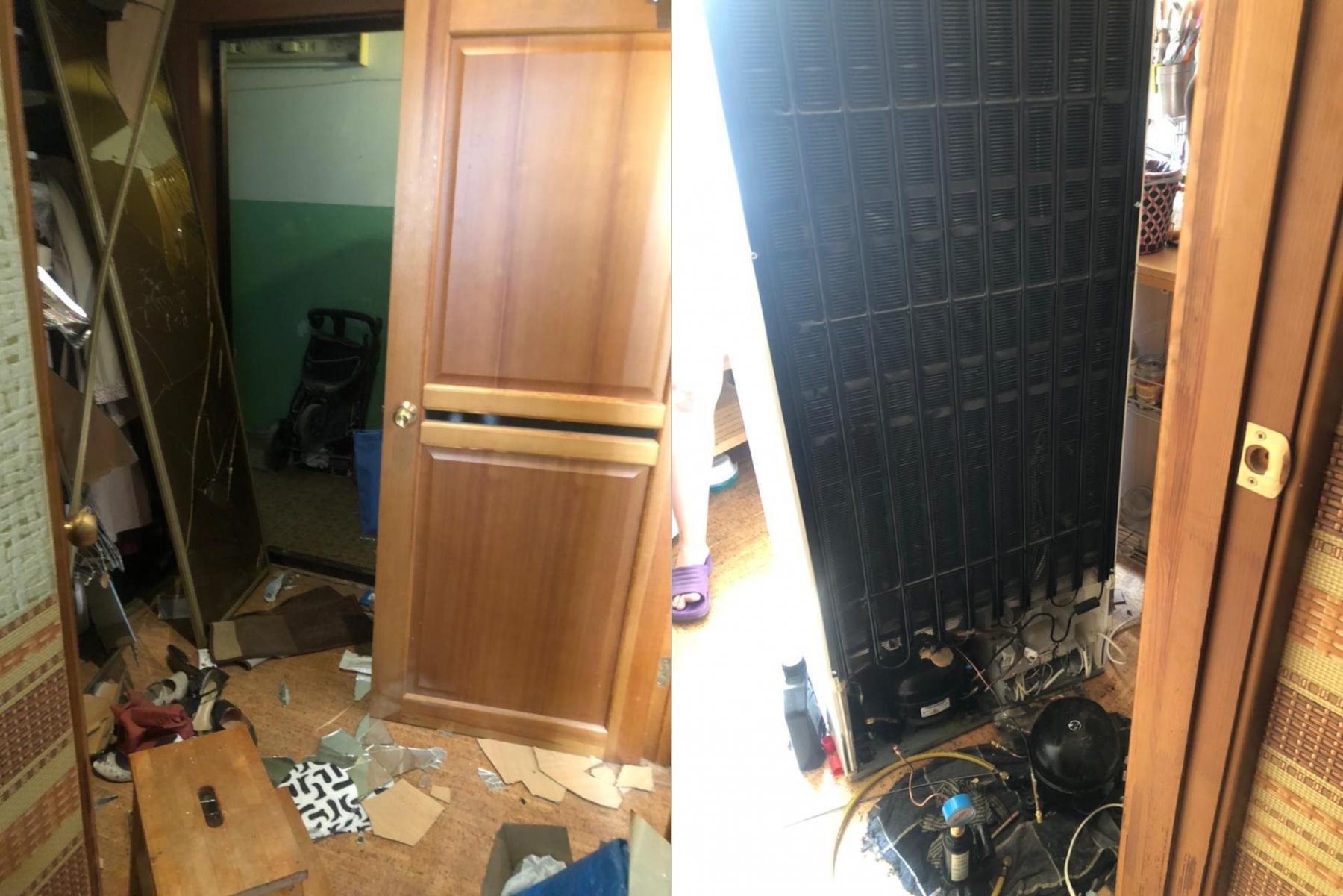 Фото Два человека пострадали из-за разгерметизации газового баллона в многоквартирном доме в Новосибирске 2