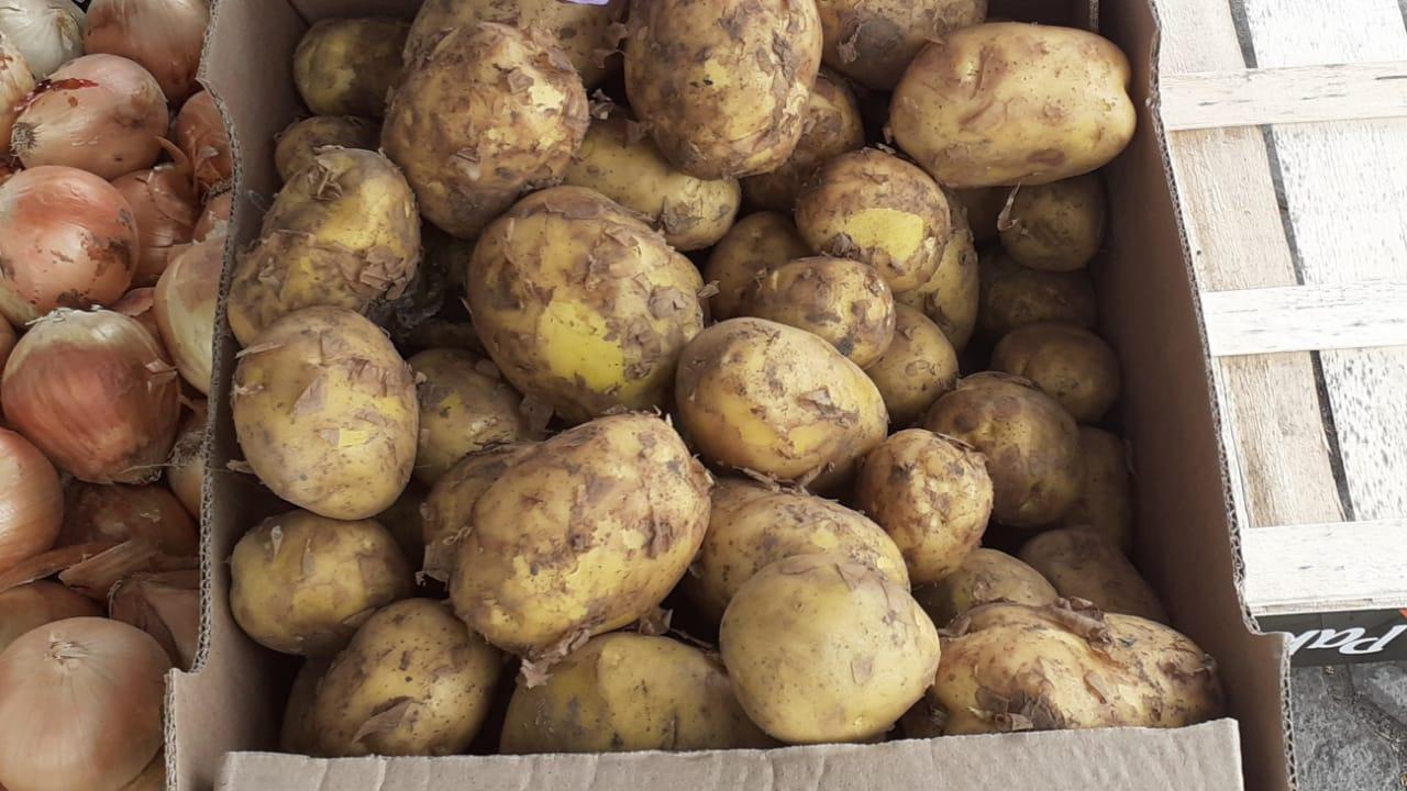 Фото «Откуда в июле свежая картошка?»: подозрительный картофель появился у уличных торговцев в Новосибирске 3