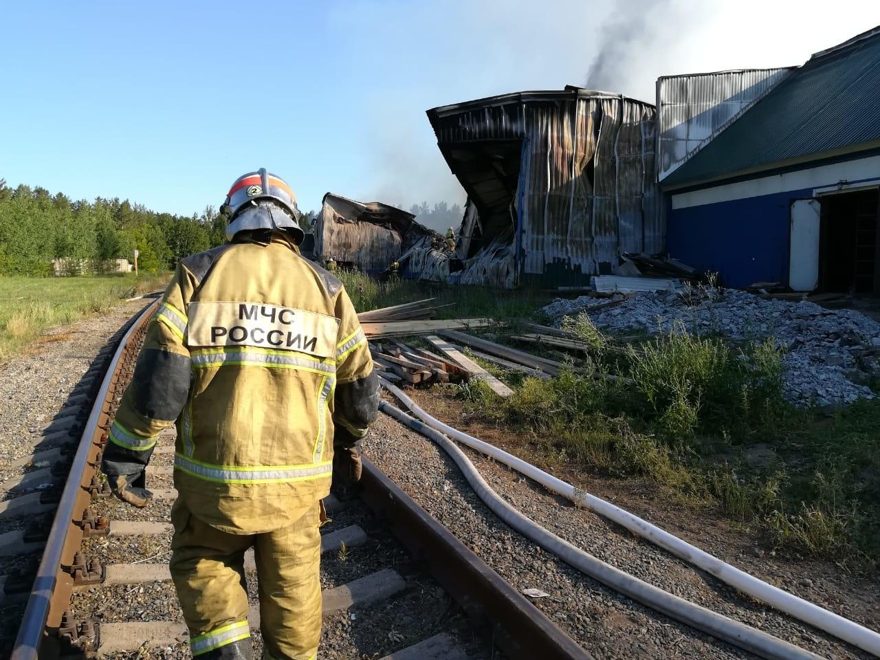 Фото «Сообщение поступило с опозданием»: что известно о пожаре на птицефабрике в Бийске 2