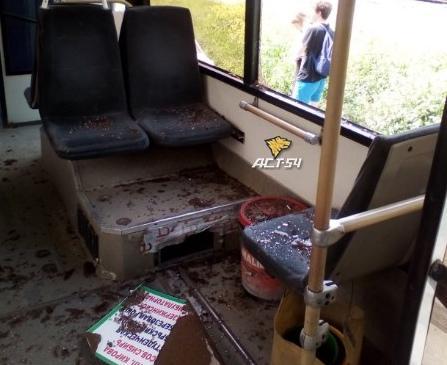 Фото Пассажиры автобуса пострадали в аварии в Дзержинском районе Новосибирска 2