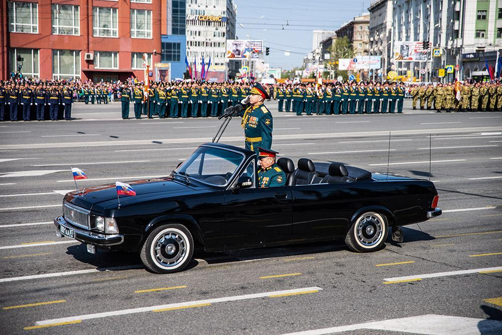 фото Генеральная репетиция парада Победы в Новосибирске: когда перекроют улицы и площадь 3