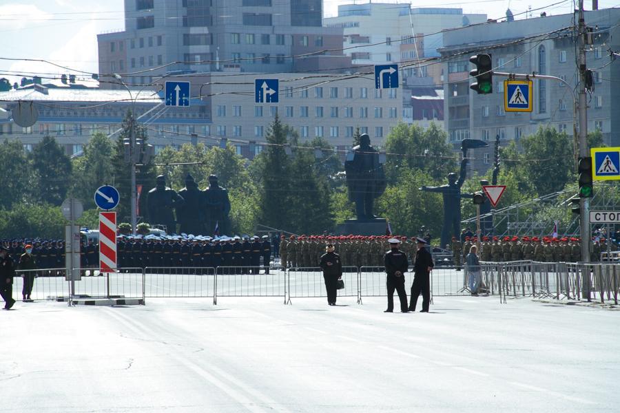 Фото Парад Победы в Новосибирске: лучшие кадры с закрытой от зрителей репетиции 5