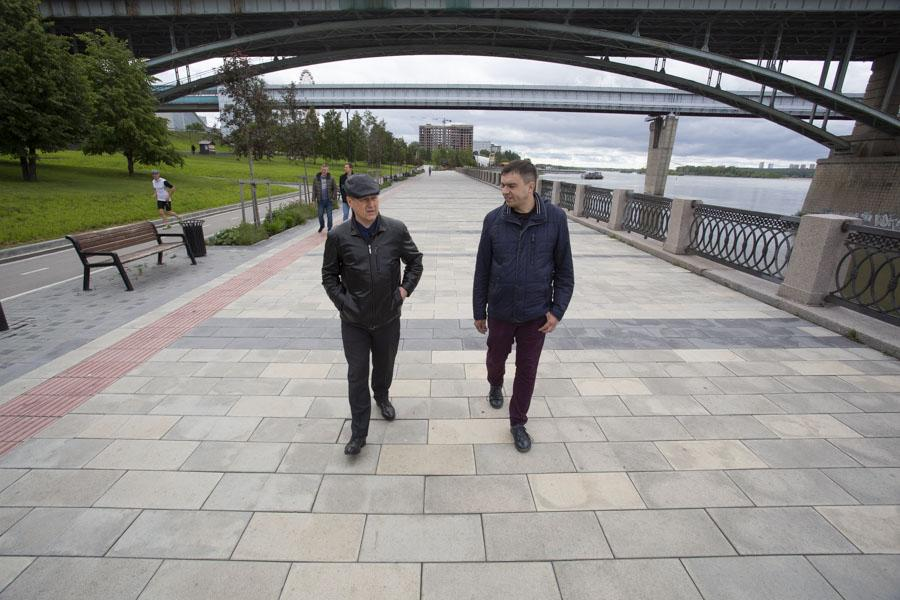 фото «Проклятый вирус подставил нам подножку»: Анатолий Локоть рассказал о новых набережных в Новосибирске, последствиях пандемии и заражениях в мэрии 13