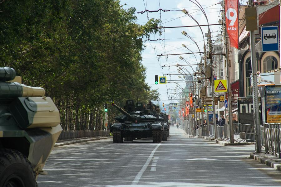 Фото В центр ни ногой: какие улицы перекрыты в Новосибирске из-за парада Победы 2