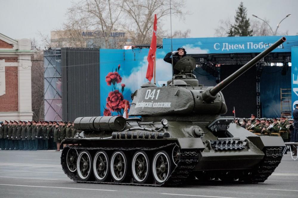 фото Где посмотреть парад Победы и салют в Новосибирске 24 июня 2