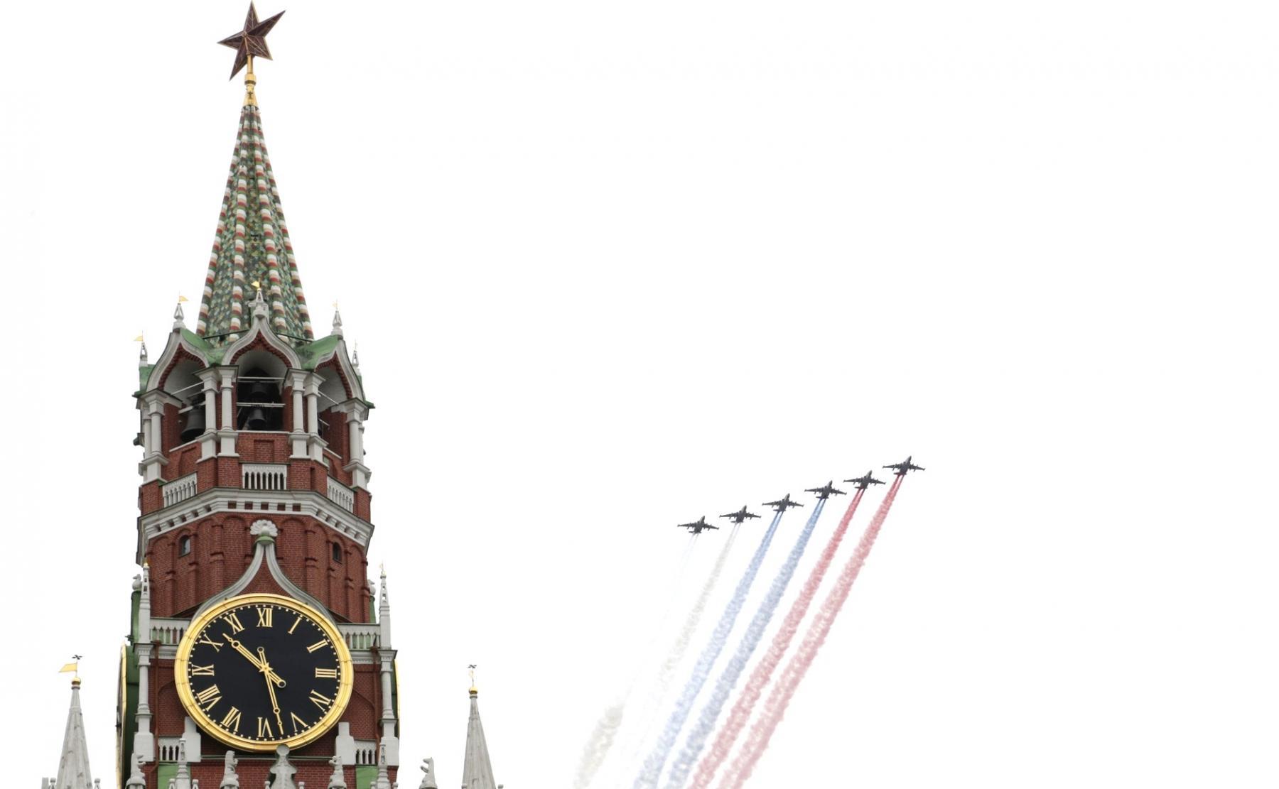 фото Путин на Красной площади поздравил россиян с 75-летием Победы: полный текст обращения 2