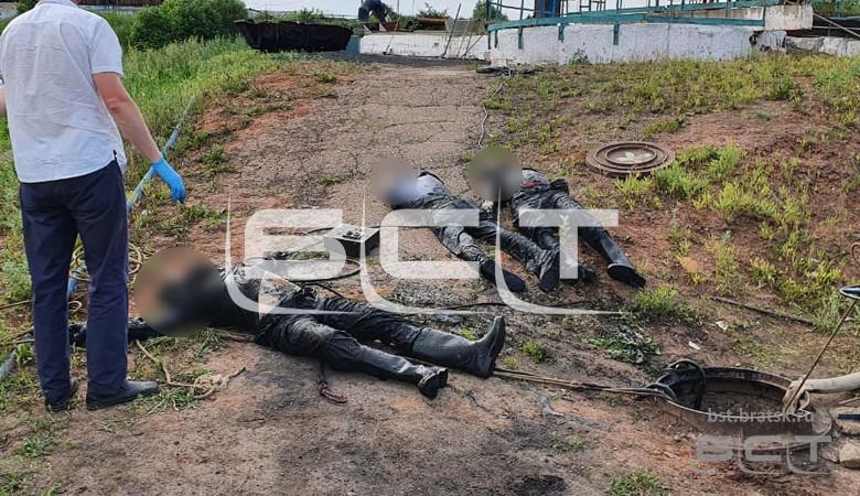 фото Братская могила: трое рабочих захлебнулись на очистных сооружениях в Сибири 2
