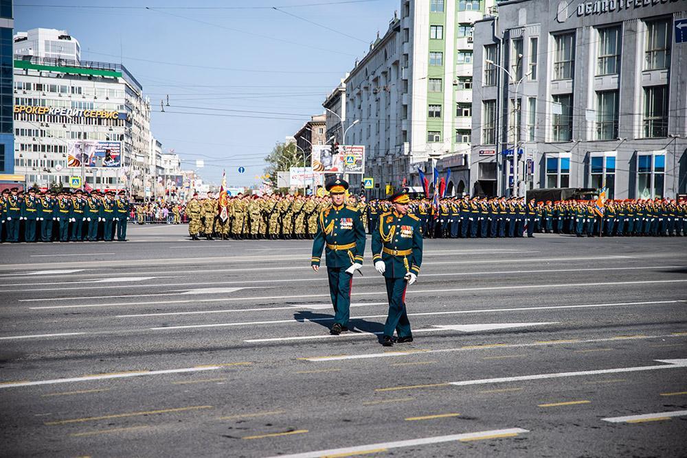 фото Генеральная репетиция парада Победы в Новосибирске: дату назвали в мэрии города 3