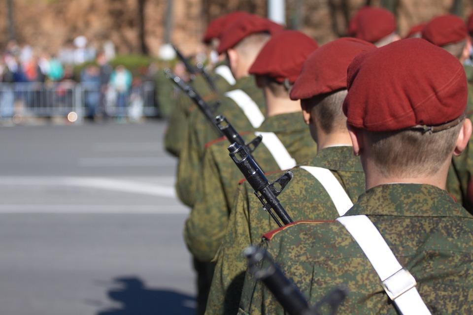 фото В Новосибирске военные приступили к подготовке к параду Победы 2