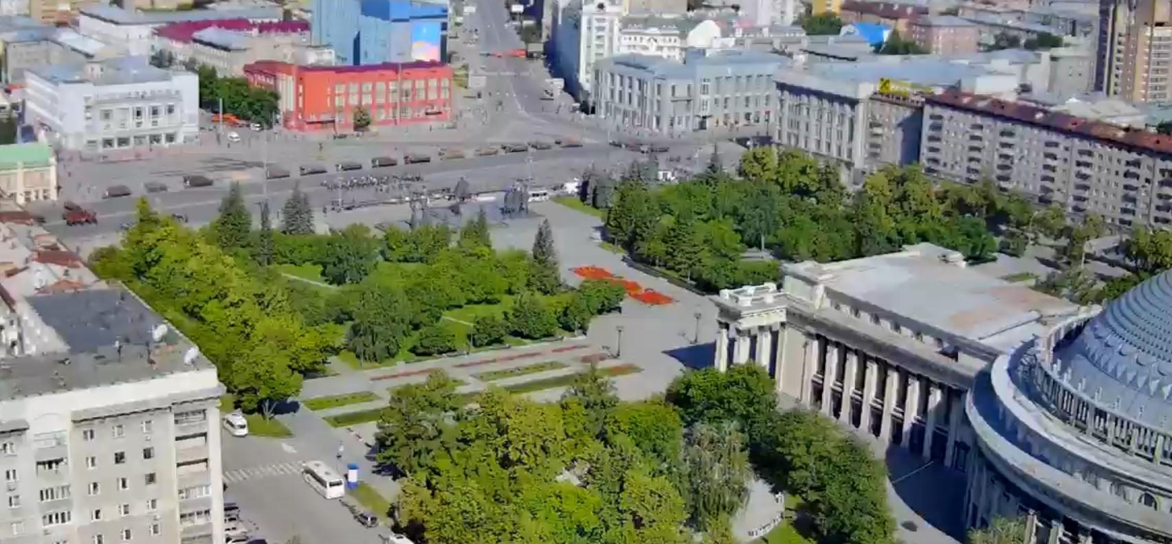 фото В Новосибирске началась репетиция парада Победы 7