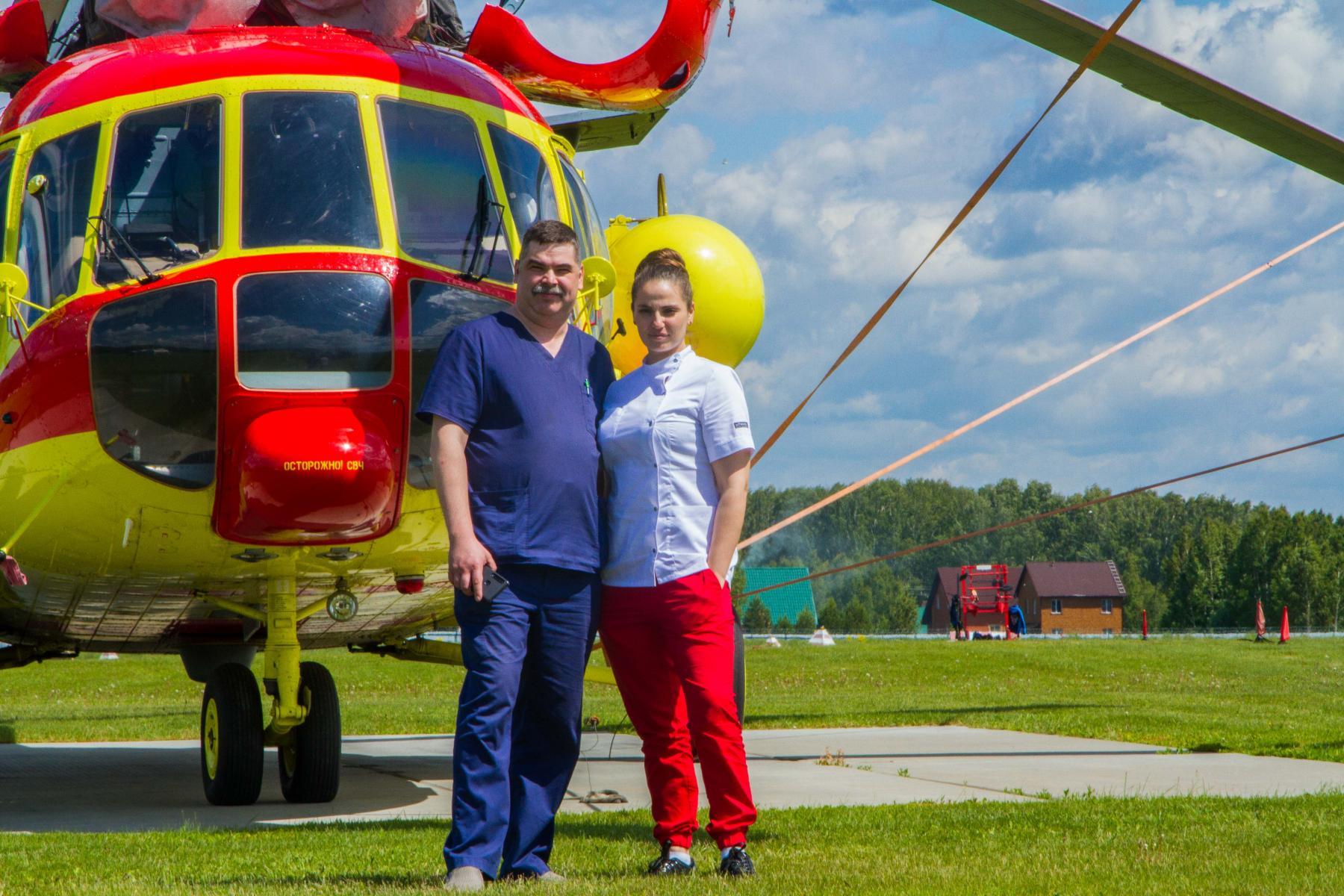 Фото По небу – быстрее: более 100 тяжёлых пациентов доставила санавиация в больницы Новосибирска 5