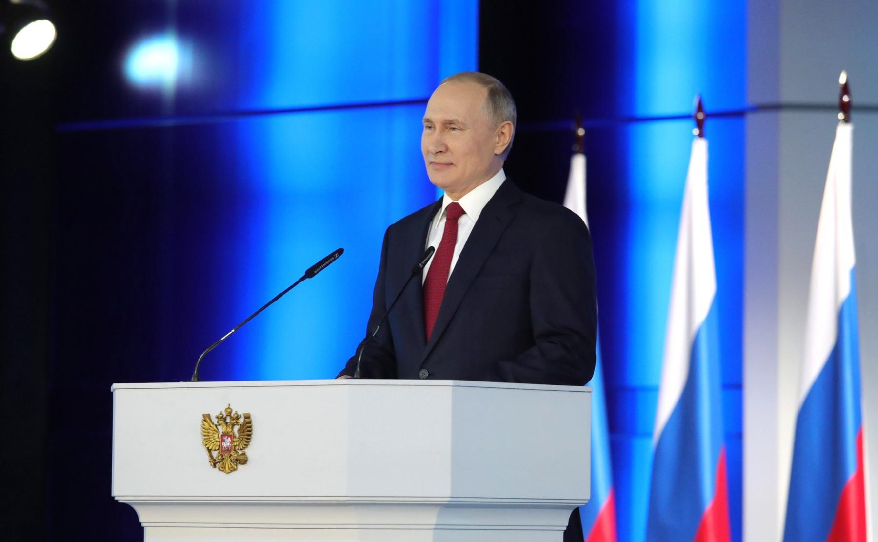 фото Путин сделал заявление об искусственном происхождении COVID-19 2
