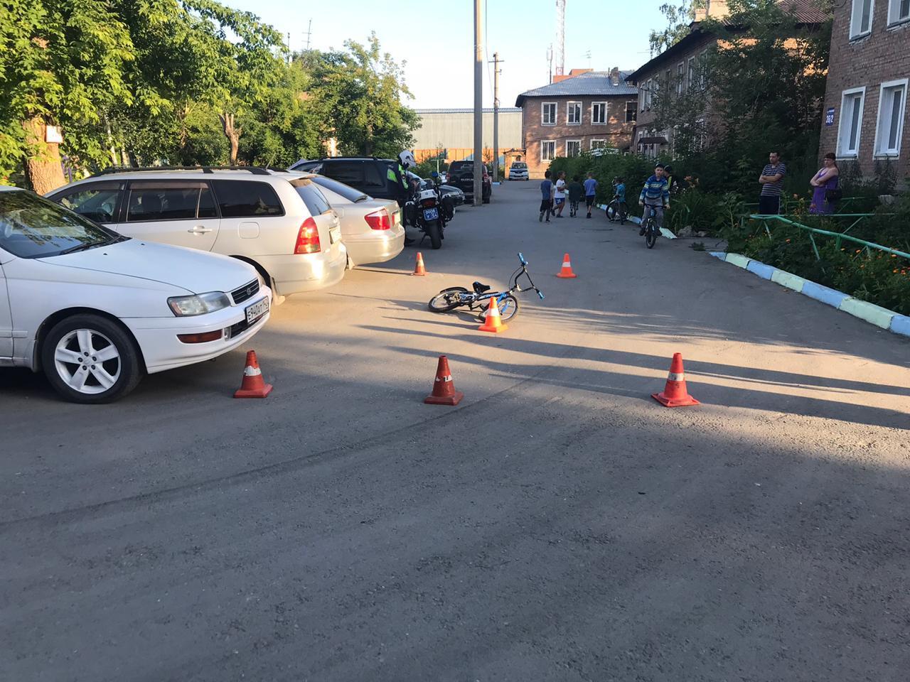фото Таксист сбил ребёнка и сбежал с места ДТП в Новосибирске 2