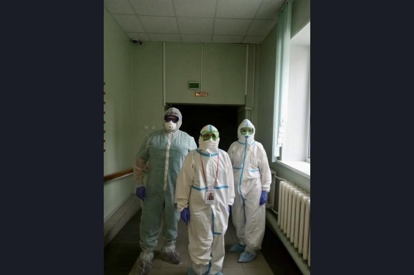 фото В Новосибирске ещё одну больницу перепрофилировали под коронавирусный госпиталь 4