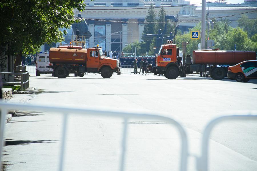 фото Пошли расчёты: в Новосибирске начался парад 2