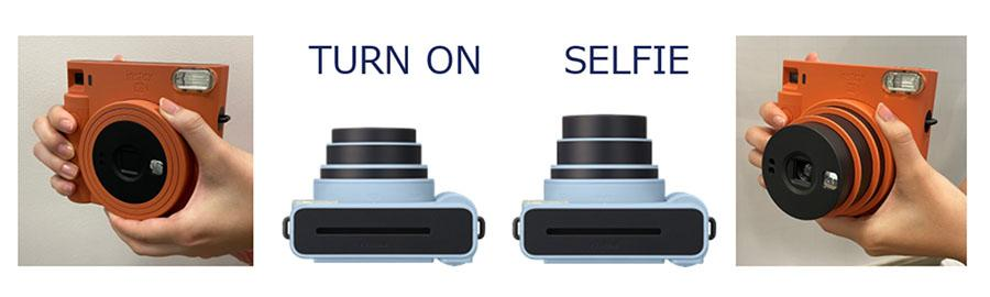 фото Компания Fujifilm выпустила минималистичную камеру square-формата Instax SQ1 3