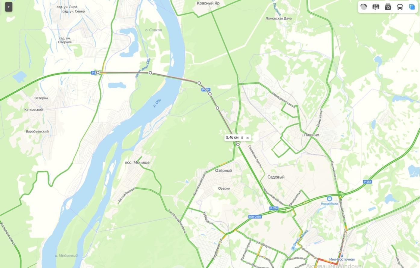 фото Пробка длиной 8,5 километра собралась на Северном объезде Новосибирска 25 июня 2