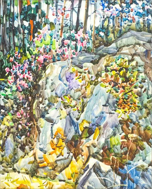 фото Громадные просторы Обского моря и влажная жара индийского Гоа: новосибирский художник Андрей Тимошенко -  о душе своих акварелей 3